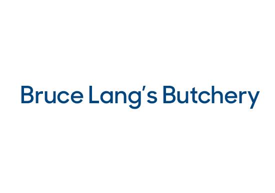 Bruce Lang Butchery logo